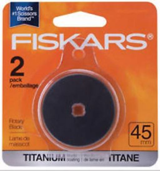 Picture of Fiskars 45mm Titanium Replacement Blade 9737