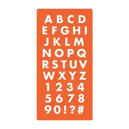 Picture of Mod Podge Mold Alphabet