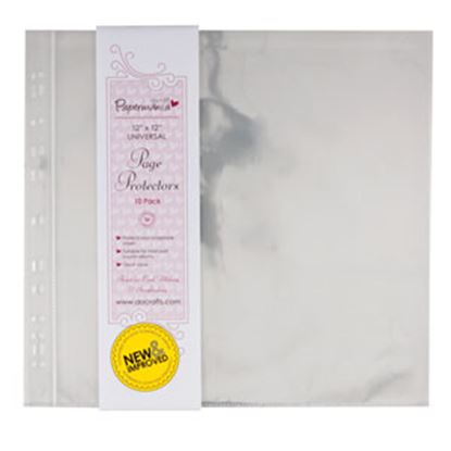 "Picture of Universal Page Protectors 12"" x 12"""