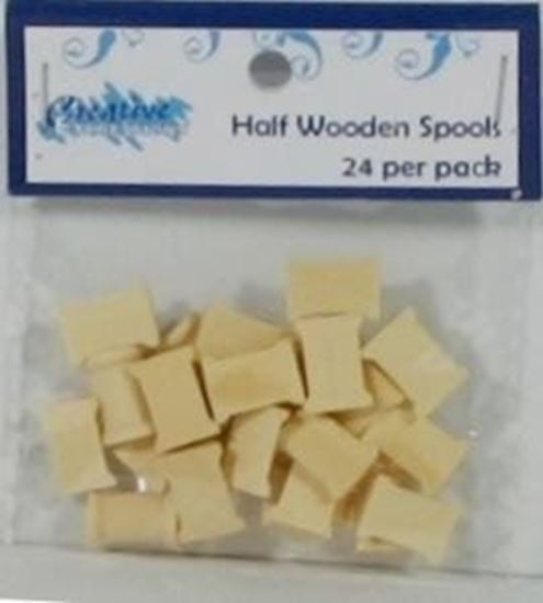 Picture of Wooden Spool Halves