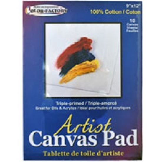 Picture of Artist Canvas Pad 23cm x 30cm