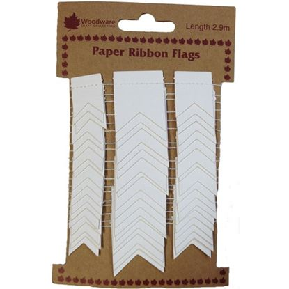 Picture of Paper Ribbon Flags