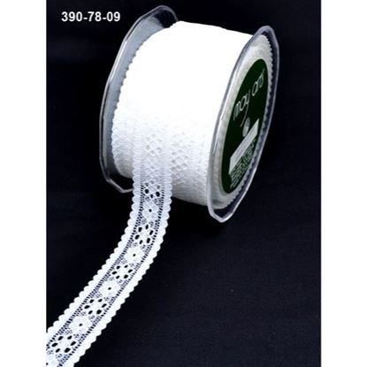 Picture of Ivory lace Ribbon 10mm
