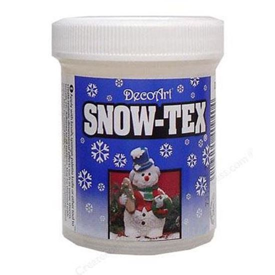 Picture of DecoArt Snow Tex 2oz