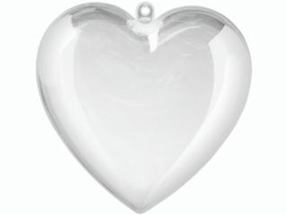 Picture of Clear Plastic Hearts