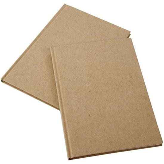 Picture of Paper Mache Covered Notebook A5