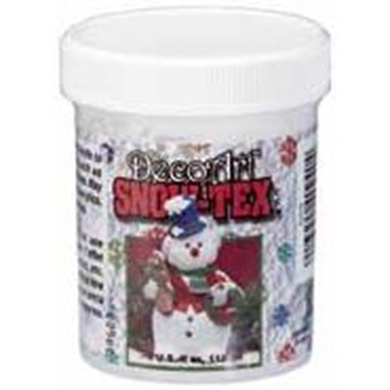 Picture of DecoArt Snow Tex 4oz