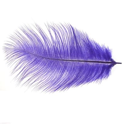 Picture of Byock Ostrich Feathers - Purple