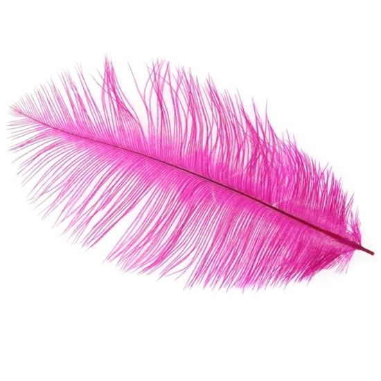 Picture of Byock Ostrich Feathers - Fuchsia