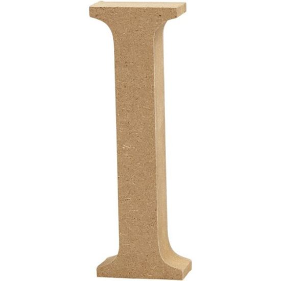 Picture of MDF Wooden Letter I (8cm)