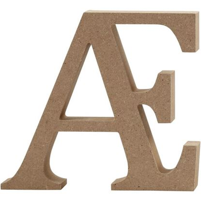 Picture of MDF Wooden Letter Grapheme (8cm)