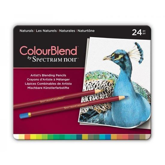 Picture of Spectrum Noir ColourBlend 24 Pencil Set - Naturals