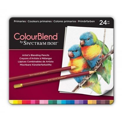 Picture of Spectrum Noir ColourBlend 24 Pencil Set - Primaries