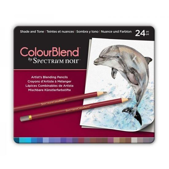 Picture of Spectrum Noir ColourBlend 24 Pencil Set - Shade and Tone
