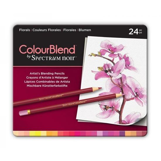 Picture of Spectrum Noir ColourBlend 24 Pencil Set - Florals