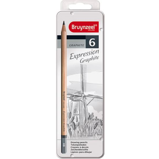 Picture of Bruynzeel Expression Graphite Drawing Pencils