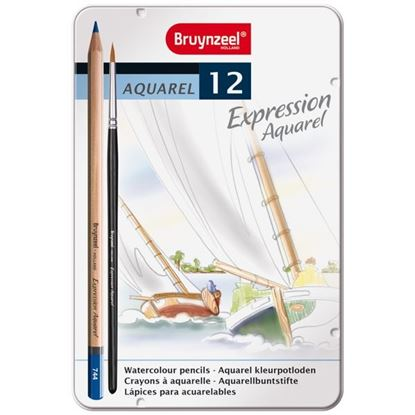 Picture of Bruynzeel Expression Aquarel Watercolour Pencils