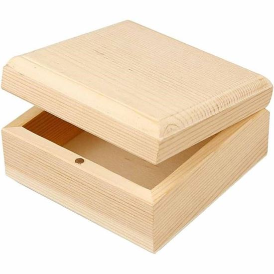 Picture of Wooden Jewellery Box Medium