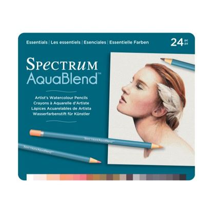 Picture of Spectrum Aquablend 24 Pencil Set Essentials