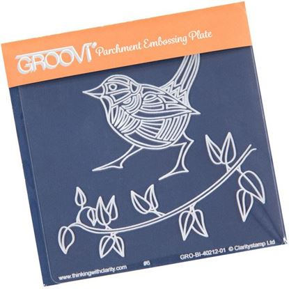 Picture of Wren & Leaves Groovi Baby Plate