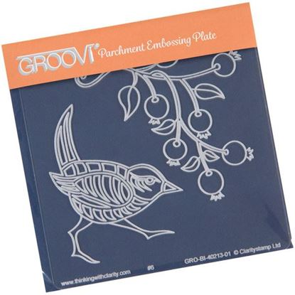 Picture of Wren & Rose Hip Groovi Baby Plate