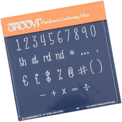 Picture of Numbers & Symbols Groovi Baby Plate