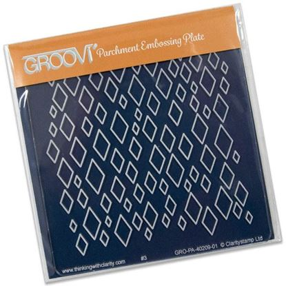 Picture of Diamonds Groovi Baby Plate