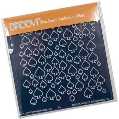 Picture of Spades Groovi Baby Plate