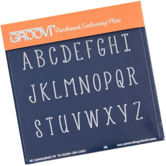 Picture of Uppercase Alphabet Groovi Baby Plate