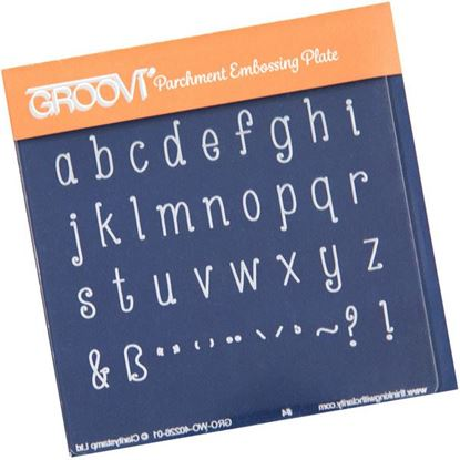 Picture of Lowercase Alphabet Groovi Baby Plate
