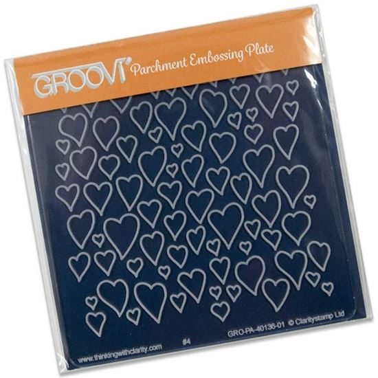 Picture of Hearts Groovi Baby Plate