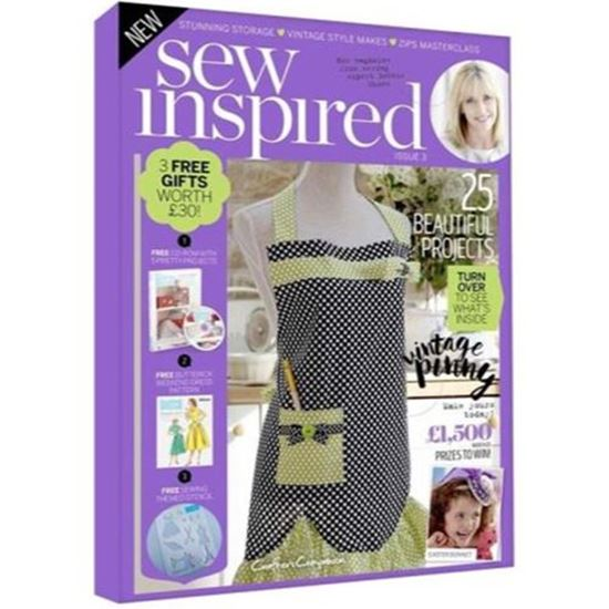 Picture of Crafters Companion Sew Inspired Issue 3