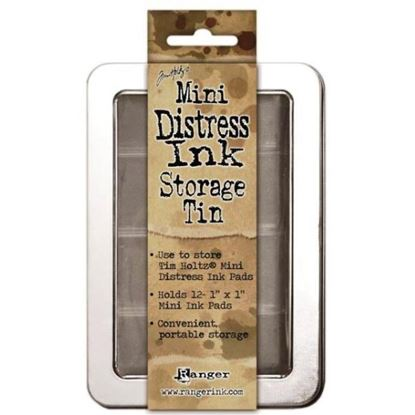 Picture of Tim Holtz Distress Mini's Ink Pad Storage Tin
