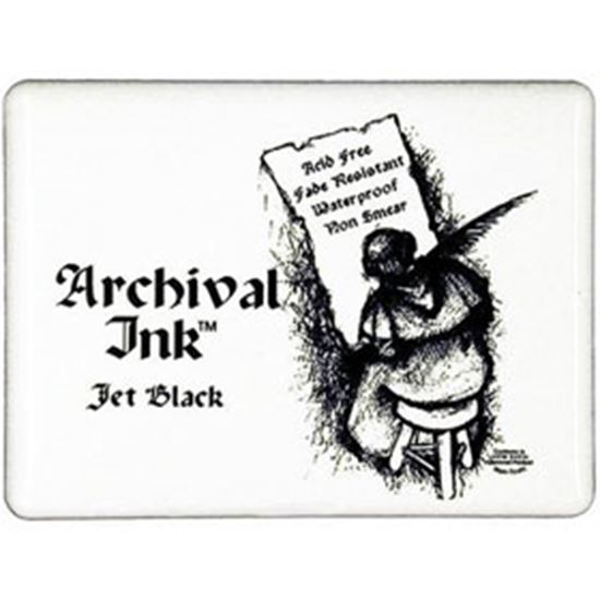 Picture of Archival Ink Pad Jumbo Black