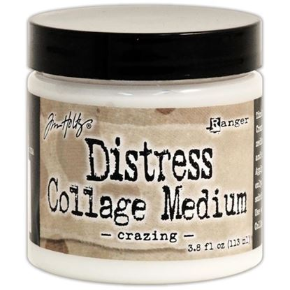 Picture of Tim Holtz Distress Collage Medium Crazing
