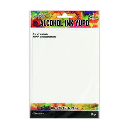 Picture of Tim Holtz Alcohol Ink Yupo Paper Translucent