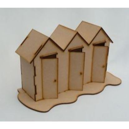 Picture of MDF Triple Beach Hut