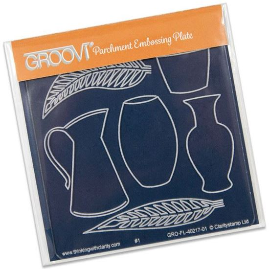 Picture of Groovi Baby Plate A6 Vases