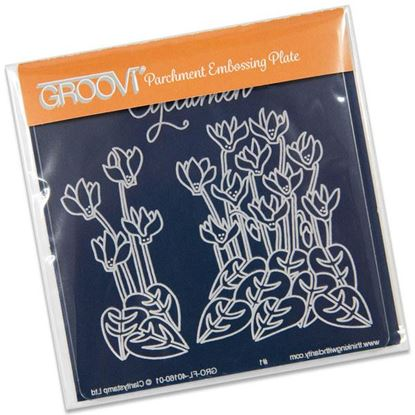 Picture of Groovi Baby Plate A6 Cyclamen