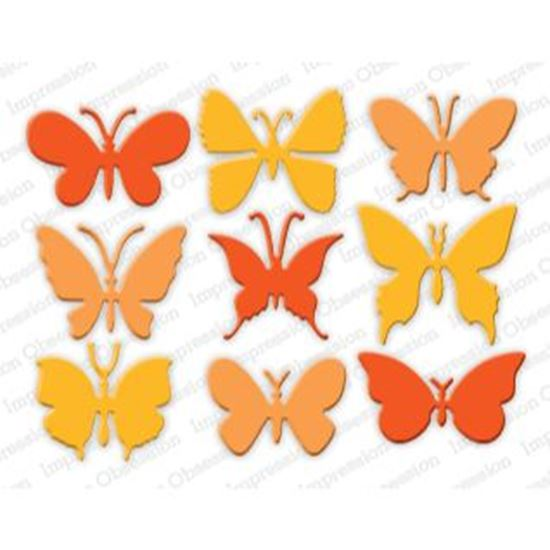 Picture of Impression Obsession Die Butterflies