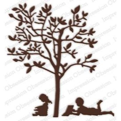 Picture of Impression Obsession Die Set Reading Tree