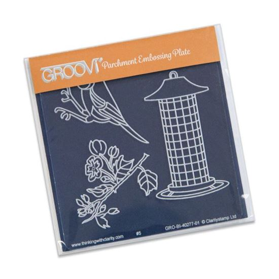 Picture of Groovi Baby Plate A6 Small Bird & Feeder