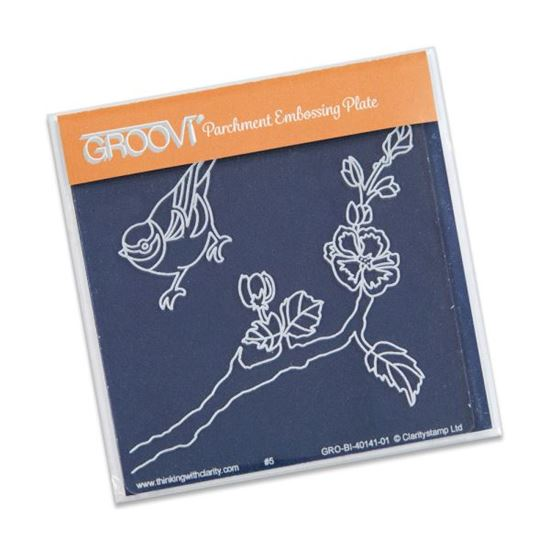 Picture of Groovi Baby Plate A6 Small Bird & Branch