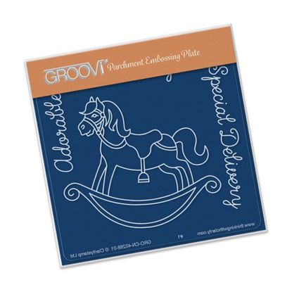 Picture of Groovi Baby Plate A6 Rocking Horse