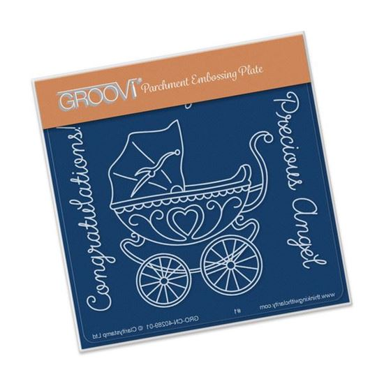 Picture of Groovi Baby Plate A6 Pram