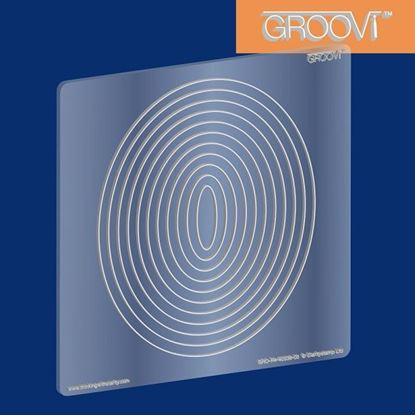 Picture of Groovi Plate Oval Nested A5 Square