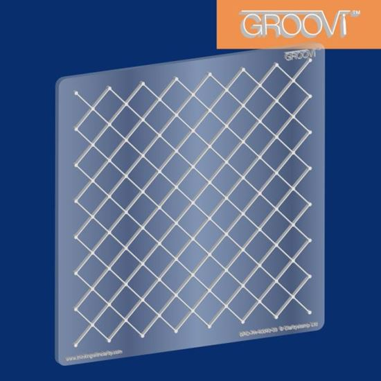 Picture of Groovi Plate Netting A5 Square