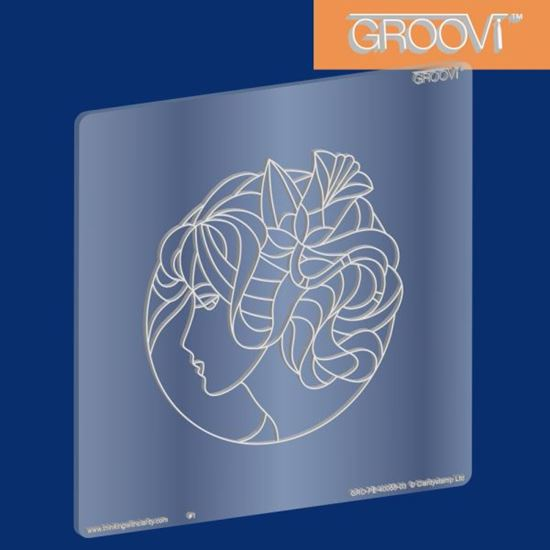 Picture of Groovi Plate Madeleine A5 Square