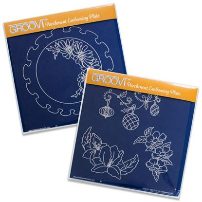 Picture of Groovi Plate Set Frilly Circles
