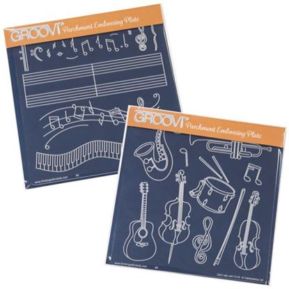 Picture of Groovi Plates Set Music